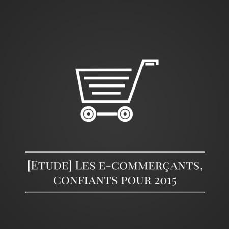 Les bruits du digital | [Etude] Les e-commerçants, confiants pour 2015