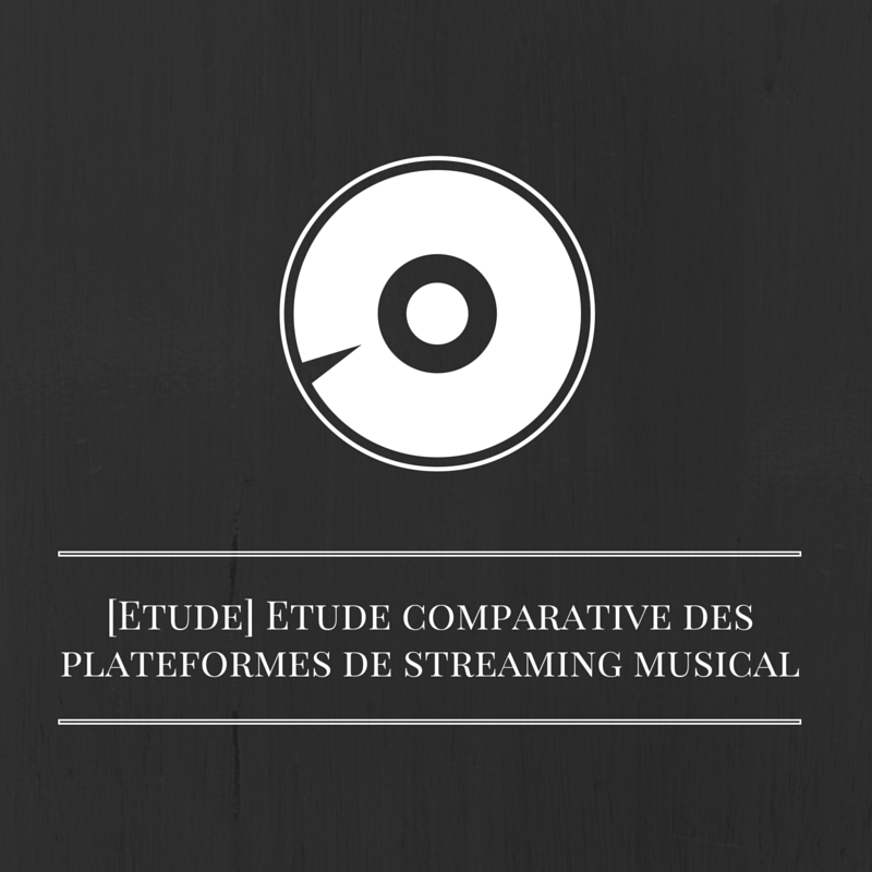Les bruits du digital | Etude comparative des plateformes de streaming musical
