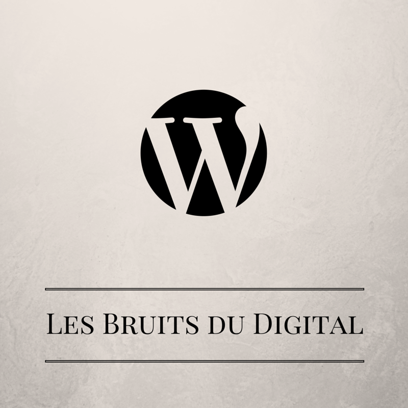 Le site évolue | Les bruits du digital