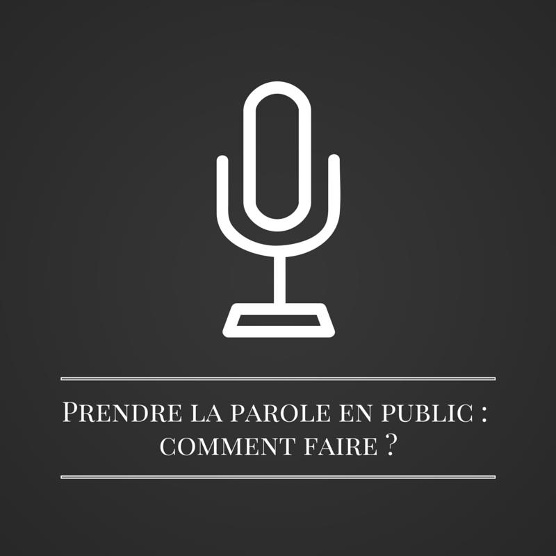 Prendre la parole en public - comment faire | Les bruits du digital