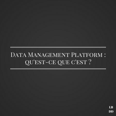 Data Management Platform - Les bruits du digital